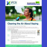 JFCS - CLearing the Air About Vaping