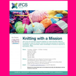 JFCS - Knitting with a Mission