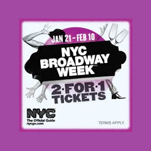 New York City Broadway Week