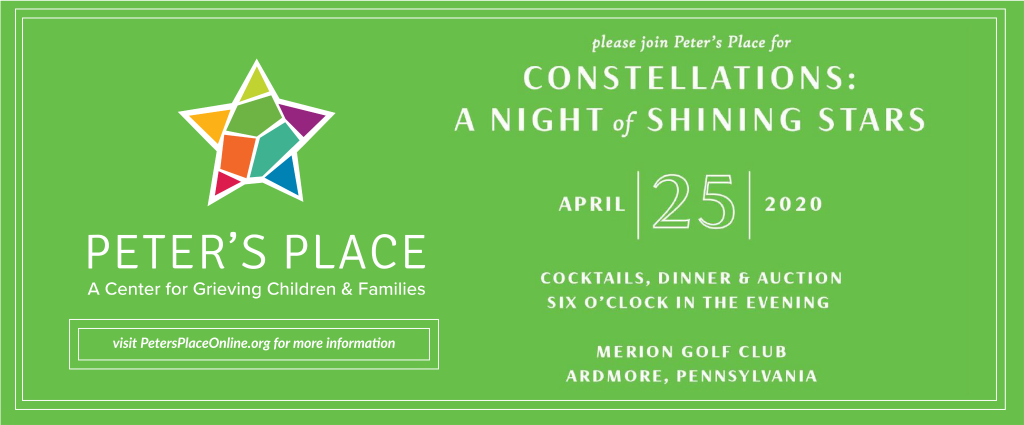 Constellations: A Night of Shining Stars