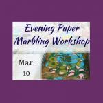 Evening Paper Marbling Workshop in Historic Sugartown's Bindery
