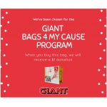 GIANT Bags 4 My Cause Benefits Main Line Meals on Wheels