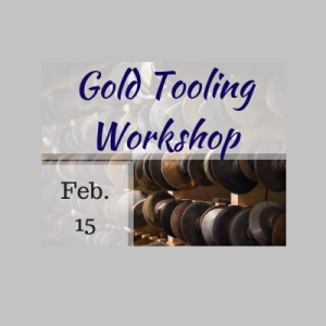 Gold Tooling / Gilding Workshop in Historic Sugartown's Bindery