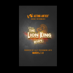 The Lion King Kids, joint production from Acting Antics and SALT Performing Arts