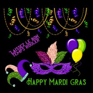 Mardi Gras Craft & Bingo Party