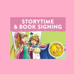 Storytime and Book Signing