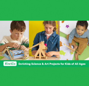 KiwiCo stay-at-home educational activities - ALL AGES!