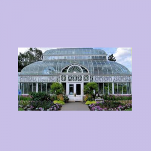 Volunteer Park Conservatory in Seattle, Washington...