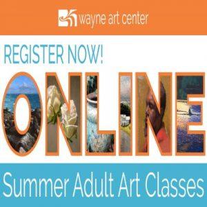 Wayne Art Center – Adult Classes Online