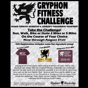 Gryphon Fitness Challenge