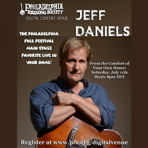Jeff Daniels Live Stream Event