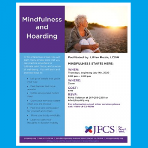 JFCS - Mindfulness and Hoarding