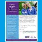JFCS - Self Care for Moms with Rise Gatherings