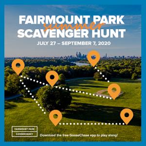 Fairmount Park Summer Scavenger Hunt