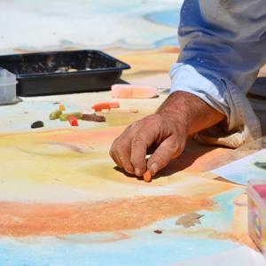 Chalk Art & Music
