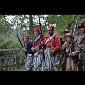 Civil War Skirmish and Camp