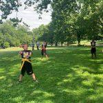 Free (Outdoors!) Beginner Karate Class