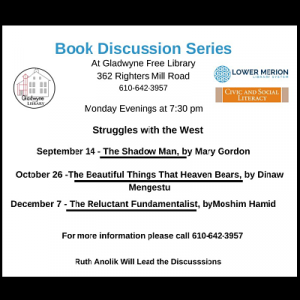 Book Discussions Series - Struggles With the West