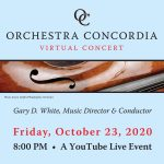 Orchestra Concordia Free YouTube Live Concert Event