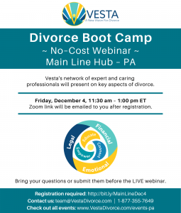 VestaDivorce: Divorce Boot Camp