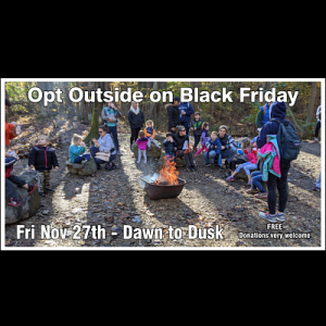 Opt Outside On Black Friday