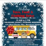 HOLIDAY, TOYS, FOOD, AND CLOTHING DONATION DRIVE