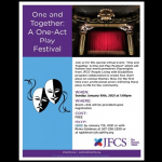 JFCS - One and Together: A One-Act Play Festival