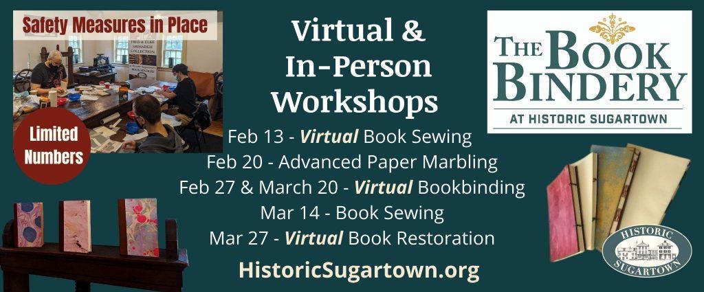 Historic Sugartown's Book Bindery Workshops