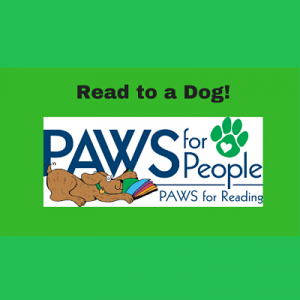 PAWS for Reading with Frangelica on Zoom!
