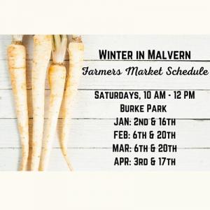 Winter in Malvern Farmers Market