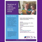 JFCS - Relatives of LGBTQ Individuals Support Group