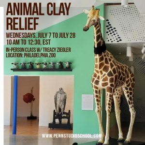 Animal Clay Relief