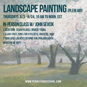 Landscape Painting (plein air)