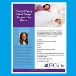 JFCS - Demystifying Infant Sleep: Support for Moms