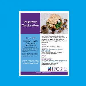 JFCS - Passover Celebration