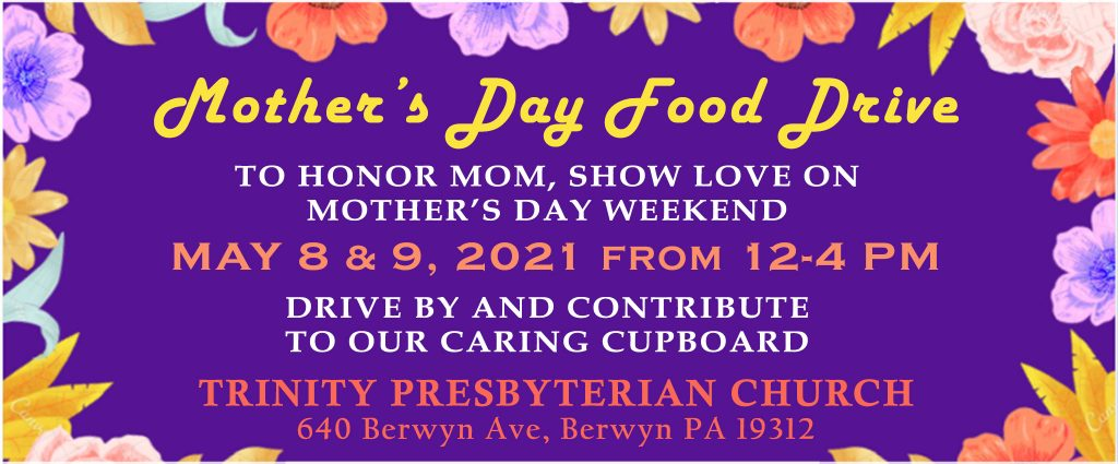 Mother's Day Weekend Food Drive