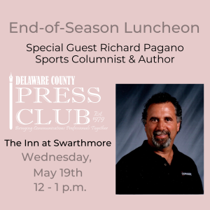 Delaware County Press Club Welcomes Sportswriter R...