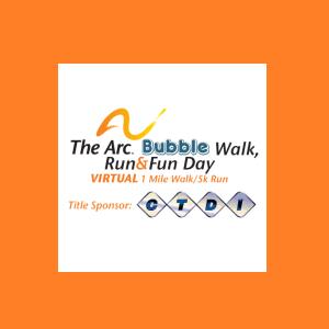 The Arc Bubble Walk & Run 2021