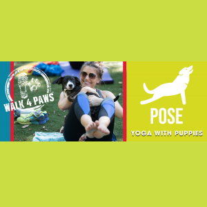 Walk for Paws 2021: Yoga with Puppies