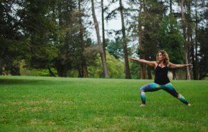 Yoga in the Garden at Stoneleigh: A Natural Garden...