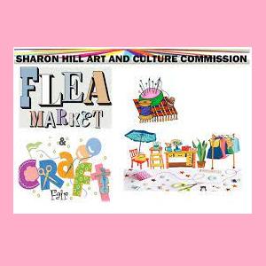 Sharon Hill Art and Culture Commission Flea Market...