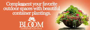 Ad for Bloom Container Plantings