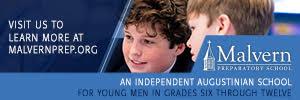 Ad for Malvern Preparatory School