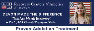 Ad for Recovery Centers of America
