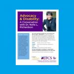 JFCS - Advocacy & Disability: A Conversation with Dr. Nelle L. Richardson