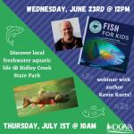 Junior Scientists: Fish for Kids! with DCVA & Author Kevin Kurtz