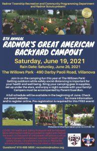 Radnor's Great American Backyard Campout