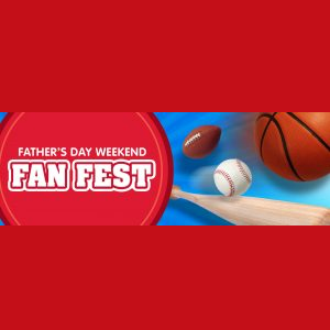 Father's Day Weekend Fan Fest at Sesame Place