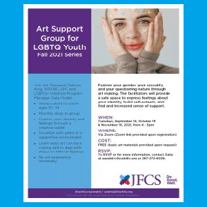 JFCS - Art Support Group for LGBTQ Youth - Fall 20...