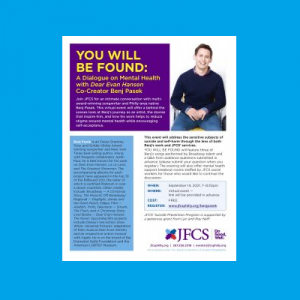 JFCS - You Will Be Found